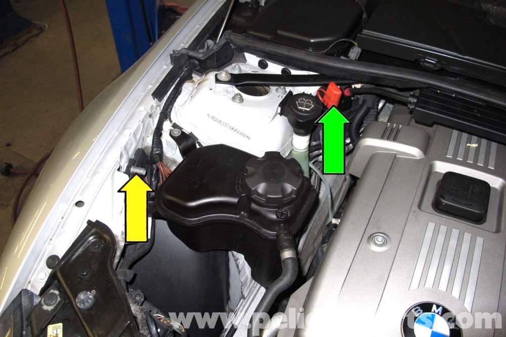medium resolution of bmw e90 battery replacement e91 e92 e93 pelican parts diy 2009 bmw 328i fuse box diagram batterry bmw 328i fuse box diagram