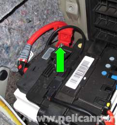 bmw e90 battery replacement e91 e92 e93 pelican parts diylarge image extra large image [ 2592 x 1728 Pixel ]