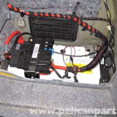 2006 325i Fuse Box Diagram Derbi Senda 125 Wiring Bmw E90 Battery Replacement | E91, E92, E93 Pelican Parts Diy Maintenance Article