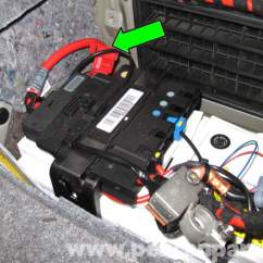 Bmw E92 Radio Wiring Diagram Bosch Alternator External Regulator E90 Battery Replacement | E91, E92, E93 Pelican Parts Diy Maintenance Article