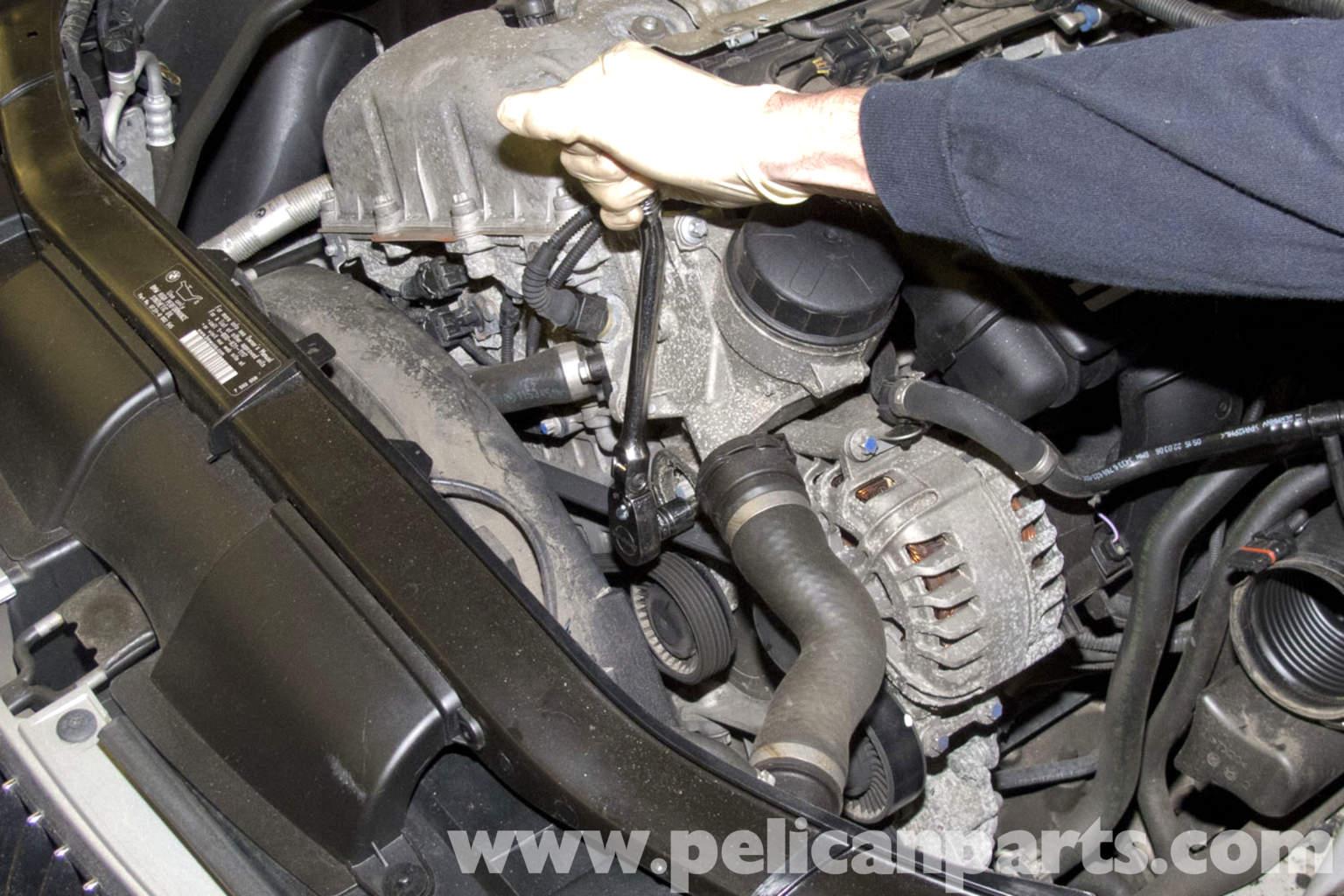 Li Engine Diagram Bmw E90 Drive Belt Replacement E91 E92 E93 Pelican