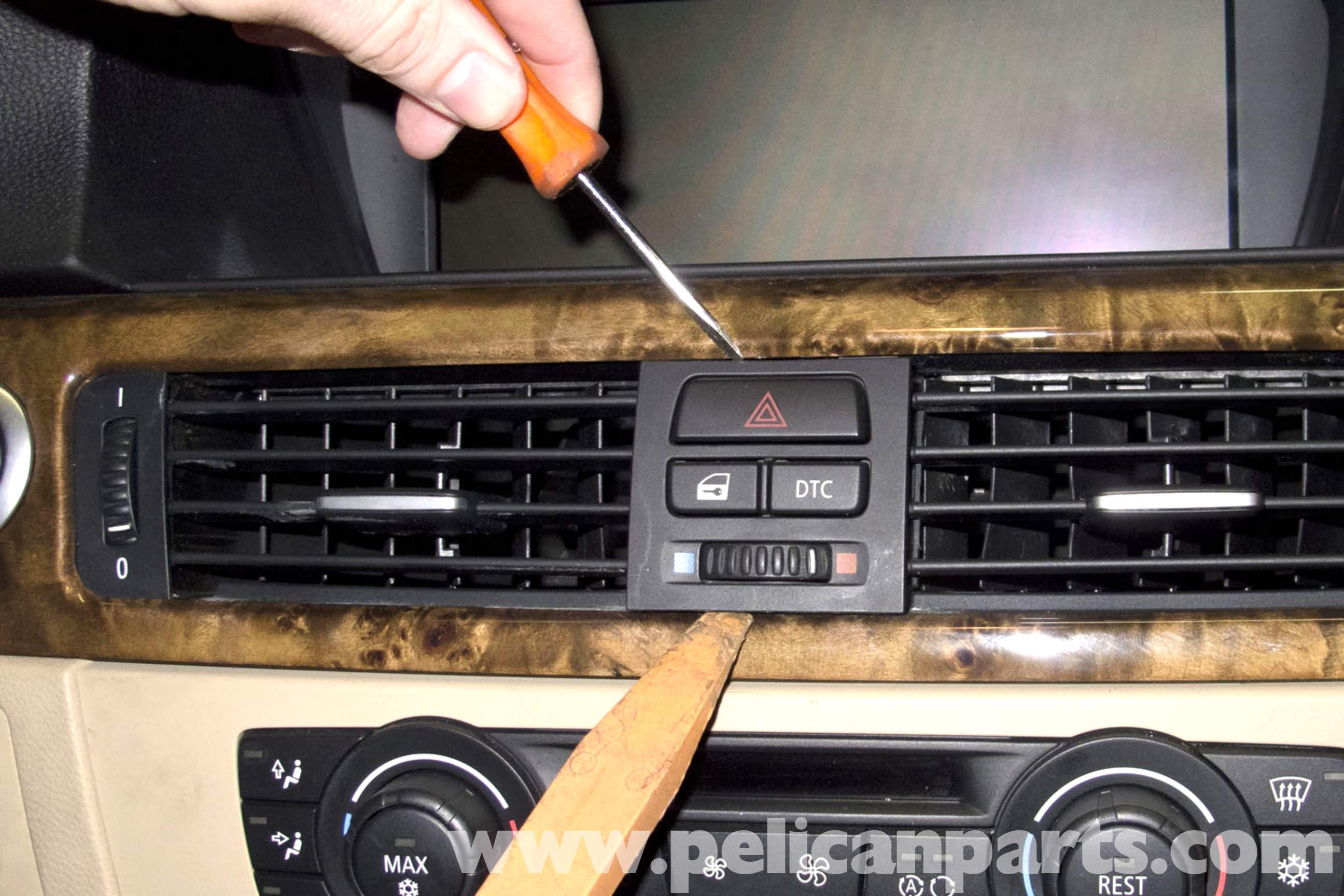 2007 328i Fuse Diagram Bmw E90 Dashboard Hazard Headlight Switch Replacement