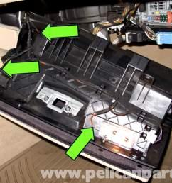 bmw e90 glove box replacement e91 e92 e93 pelican parts diy rh pelicanparts com e90 fuse box diagram e90 cigarette lighter fuse [ 2592 x 1728 Pixel ]