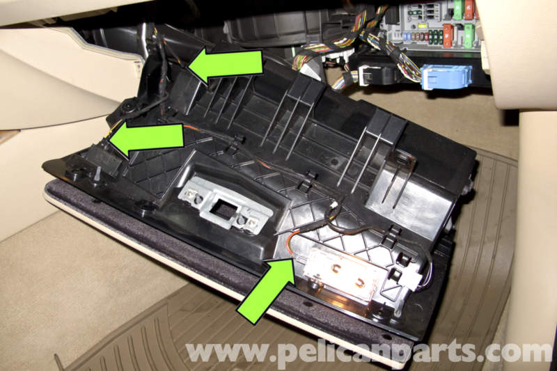Series Fuse Box Bmw E90 Glove Box Replacement E91 E92 E93 Pelican