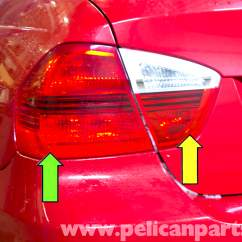 Car Reverse Light Wiring Diagram Show The Orbital Filling For Bromine Bmw E90 Tail Replacement | E91, E92, E93 Pelican Parts Diy Maintenance Article