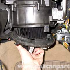 Elec Fan Wiring Diagram 2001 Mitsubishi Galant Headlight Bmw E90 Blower Motor Replacement | E91, E92, E93 Pelican Parts Diy Maintenance Article