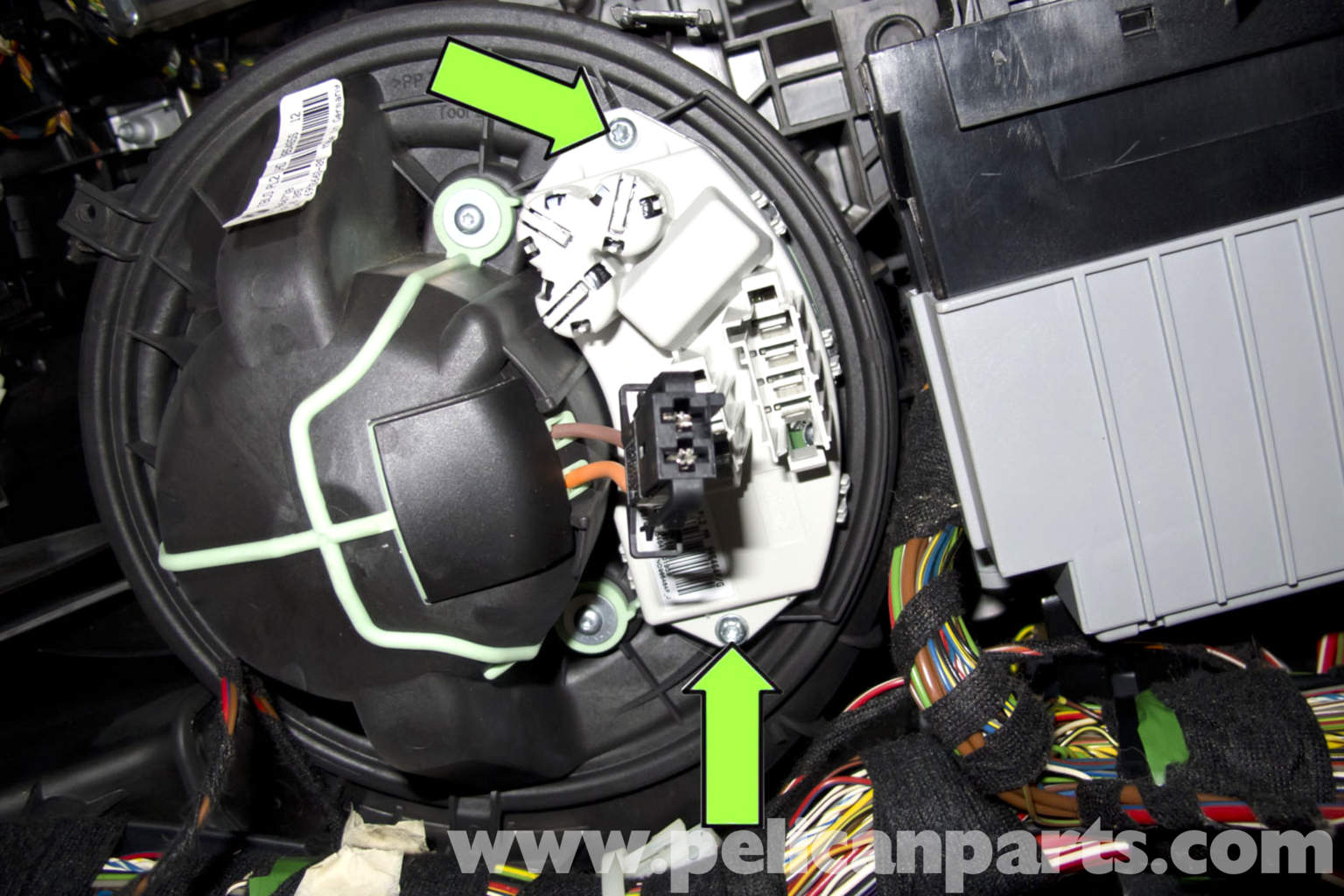 ac motor speed controller circuit diagram stove plug wiring bmw e90 blower replacement | e91, e92, e93 pelican parts diy maintenance article