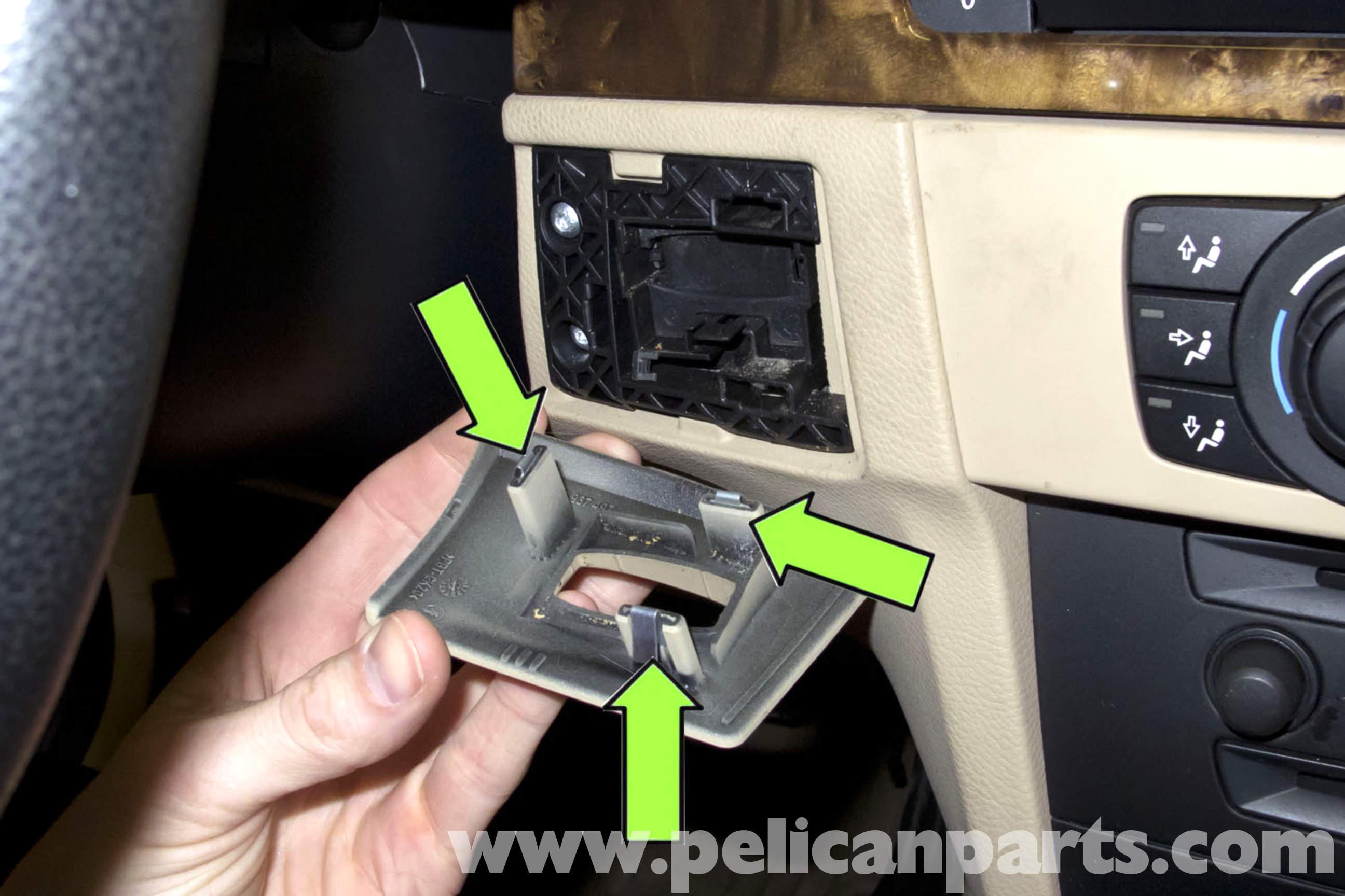 E60 Headlight Wiring Diagram Bmw E90 Remote Key Slot Replacement E91 E92 E93