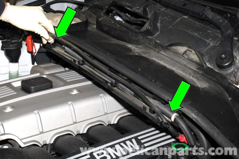 335i Fuse Diagram Bmw E90 Engine Cover Removal E91 E92 E93 Pelican