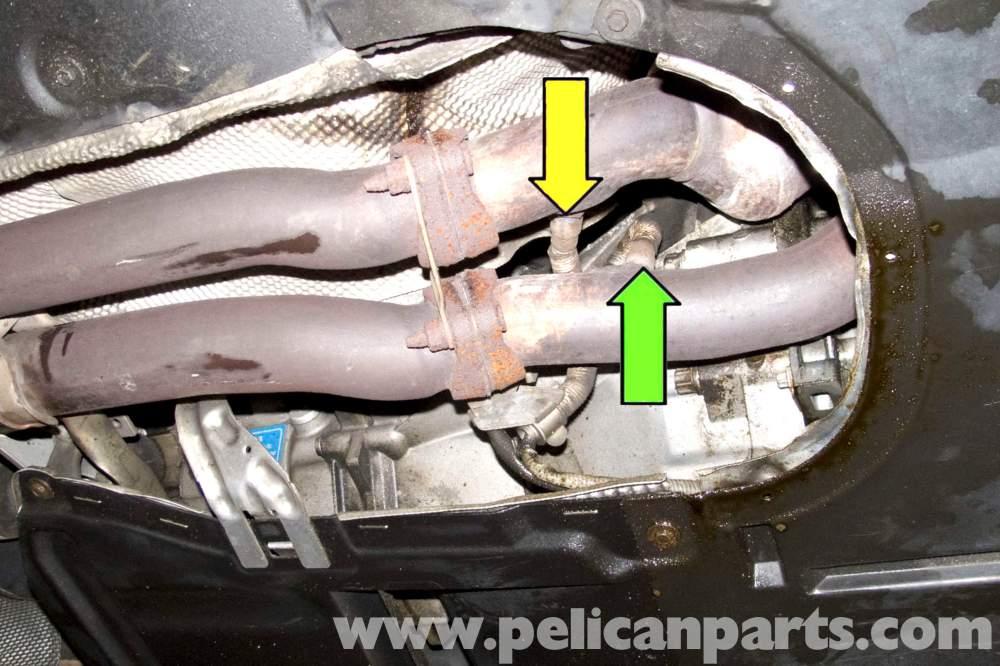 medium resolution of bmw e90 oxygen sensor replacement e91 e92 e93 pelican parts rh pelicanparts com bosch o2 sensor