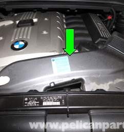 bmw e90 knock sensor replacement e91 e92 e93 pelican parts diy diagram besides bmw 750il moreover 1998 bmw 528i vacuum hose diagram [ 2592 x 1728 Pixel ]