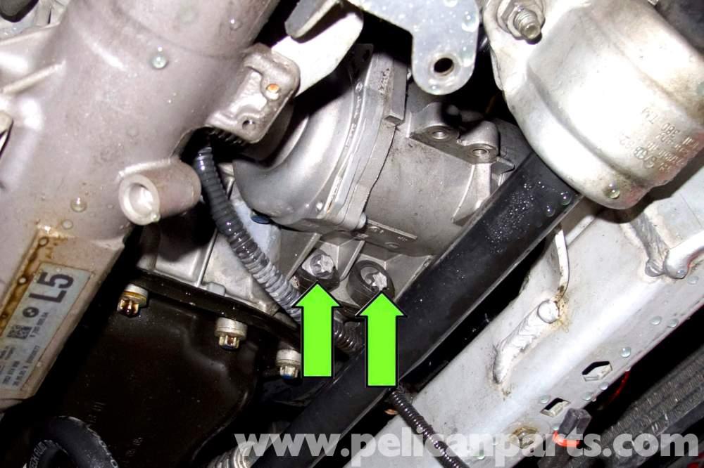 medium resolution of bmw e90 coolant pump replacement e91 e92 e93 pelican parts diy 2007 bmw 328i serpentine belt diagram besides 2001 bmw 325i coolant