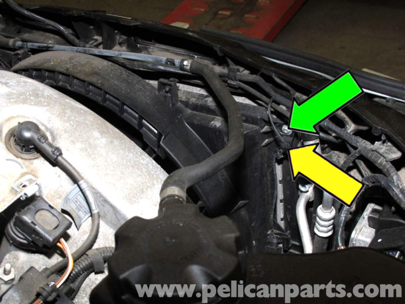 relay wiring diagram 5 pin automotive diagrams explained bmw e90 cooling fan replacement | e91, e92, e93 pelican parts diy maintenance article