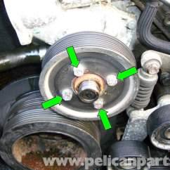 2006 Bmw 325i Engine Diagram 1979 Kawasaki Kz1000 Wiring E39 5-series Cooling Pump Removal | 1997-2003 525i, 528i, 530i, 540i Pelican Parts Diy ...
