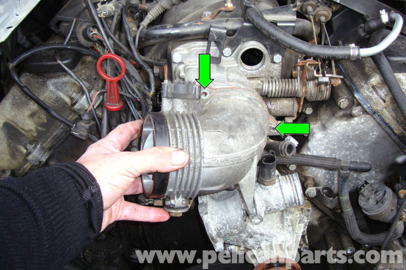 I Engine Diagram Bmw E39 5 Series Throttle Housing Removal 1997 2003 525i