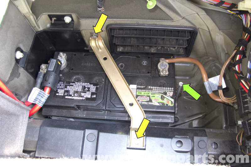 Amp Wiring Diagram Bmw 325i Bmw E39 5 Series Battery Replacement 1997 2003 525i