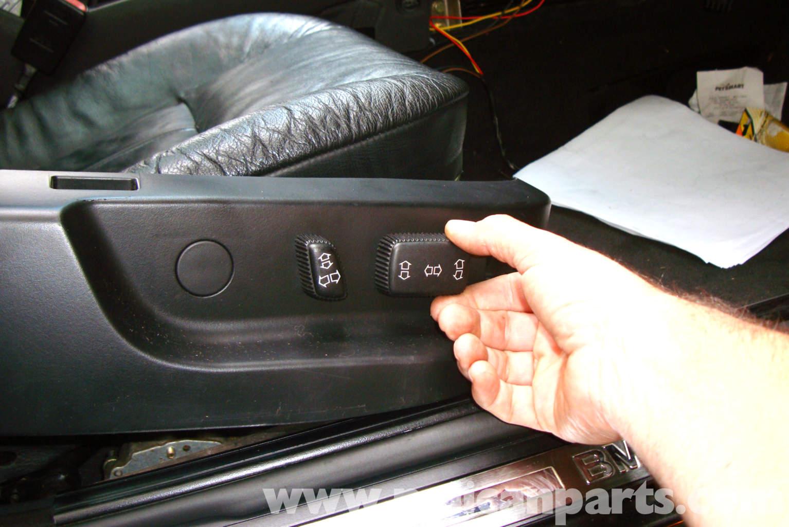 2007 Bmw X3 Wiring Diagram Bmw E39 5 Series Power Seat Testing 1997 2003 525i 528i
