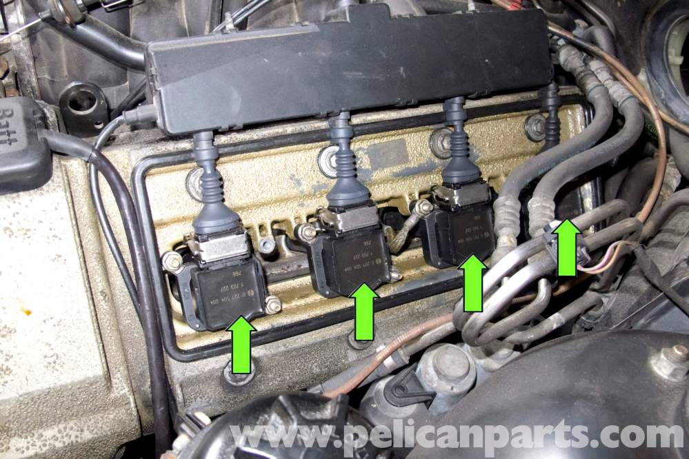 medium resolution of bmw e39 5 series spark plug coil replacement 1997 2003 525i 528i coil on plug connectors bmw coil on plug wiring