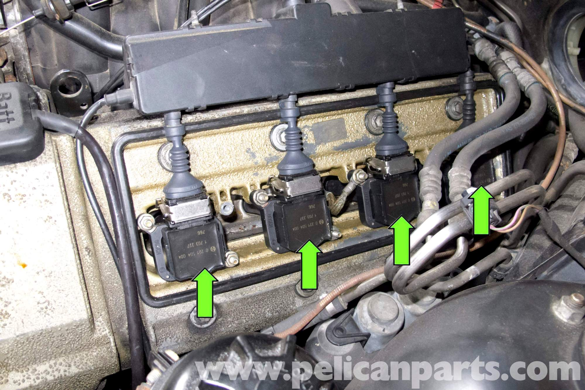 hight resolution of bmw e39 5 series spark plug coil replacement 1997 2003 525i 528i coil on plug connectors bmw coil on plug wiring