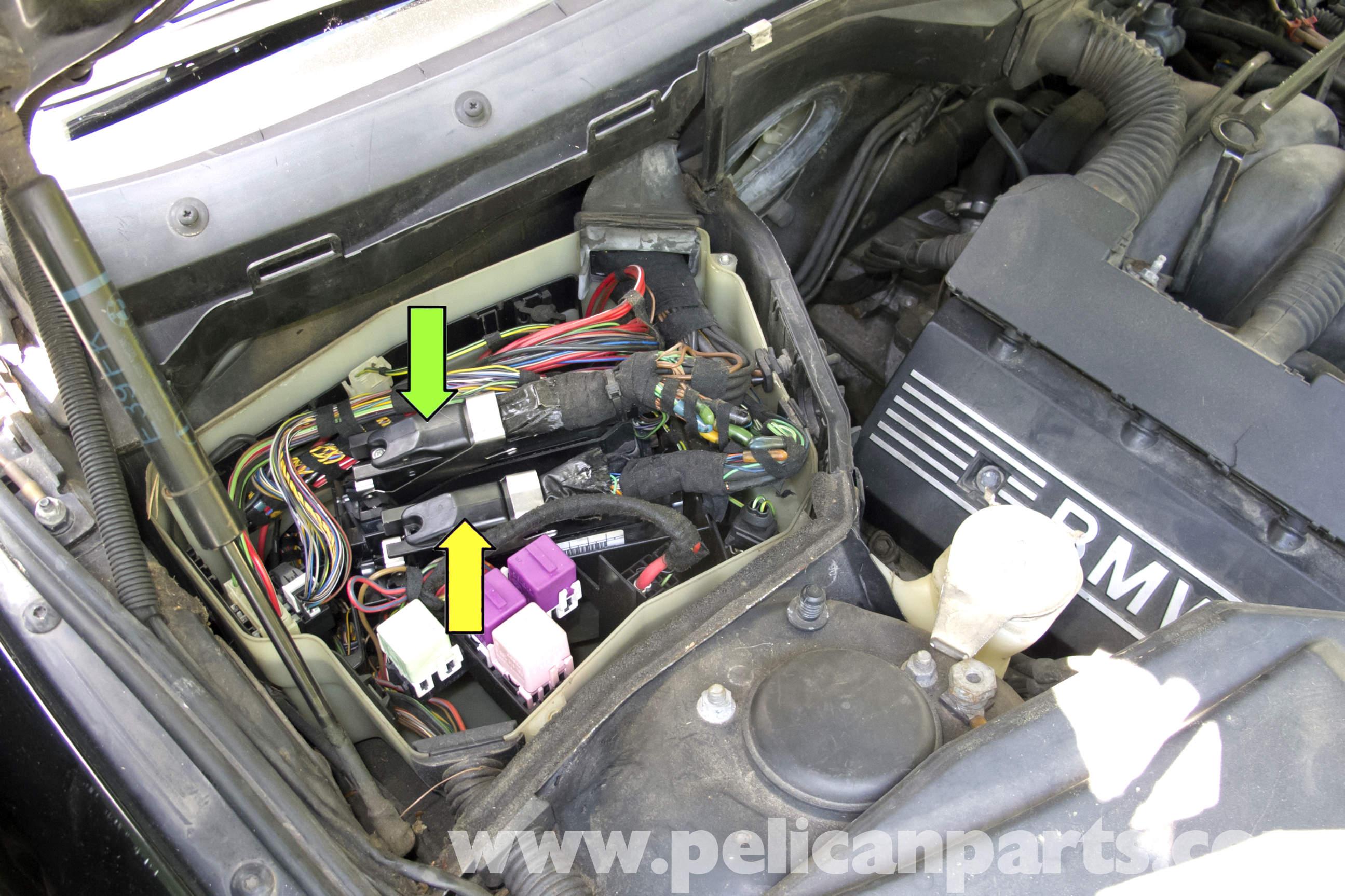 I Fuse Diagram Bmw E39 5 Series Engine Management Systems 1997 2003