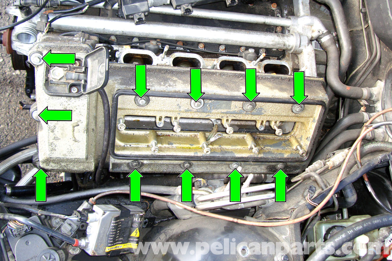 2006 Bmw X5 Wiring Schematics Bmw E39 5 Series Valve Cover Gasket Removal 1997 2003