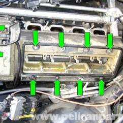 Bmw E46 Engine Diagram 2000 Dodge Neon Coil Wiring E39 5-series Valve Cover Gasket Removal | 1997-2003 525i, 528i, 530i, 540i Pelican Parts ...