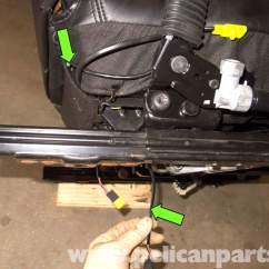 Bmw Z3 Seat Wiring Diagram Vectra Radio Front Removing And Buckle Replacement 1996