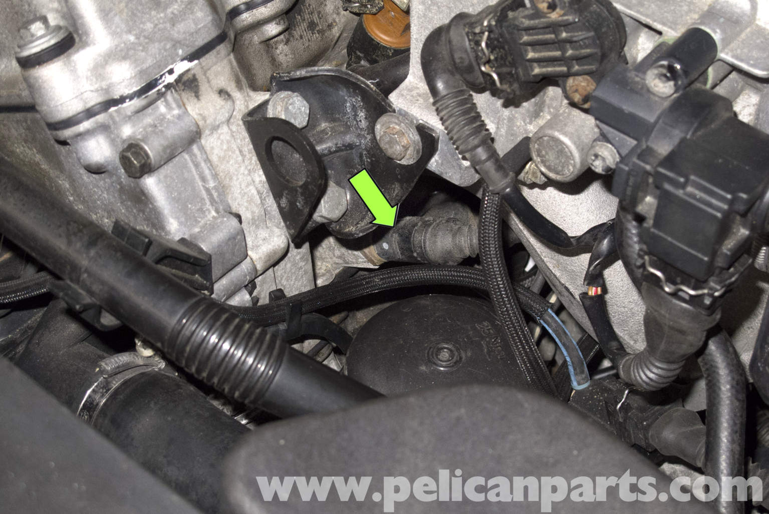 2003 nissan pathfinder engine diagram toyota celica wiring 1993 bmw z3 coolant temperature sensor testing and replacement | 1996-2002 pelican parts diy ...