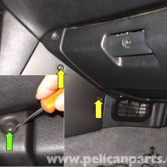 1996 Bmw Z3 Wiring Diagram Th400 Kickdown Case Connector Glovebox Replacement | 1996-2002 Pelican Parts Diy Maintenance Article