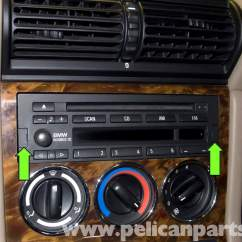 Bmw Z3 Stereo Wiring Diagram 2005 Ford F150 Headlight Radio Removal And Replacement 1996 2002 Pelican Parts Diy Large Image Extra