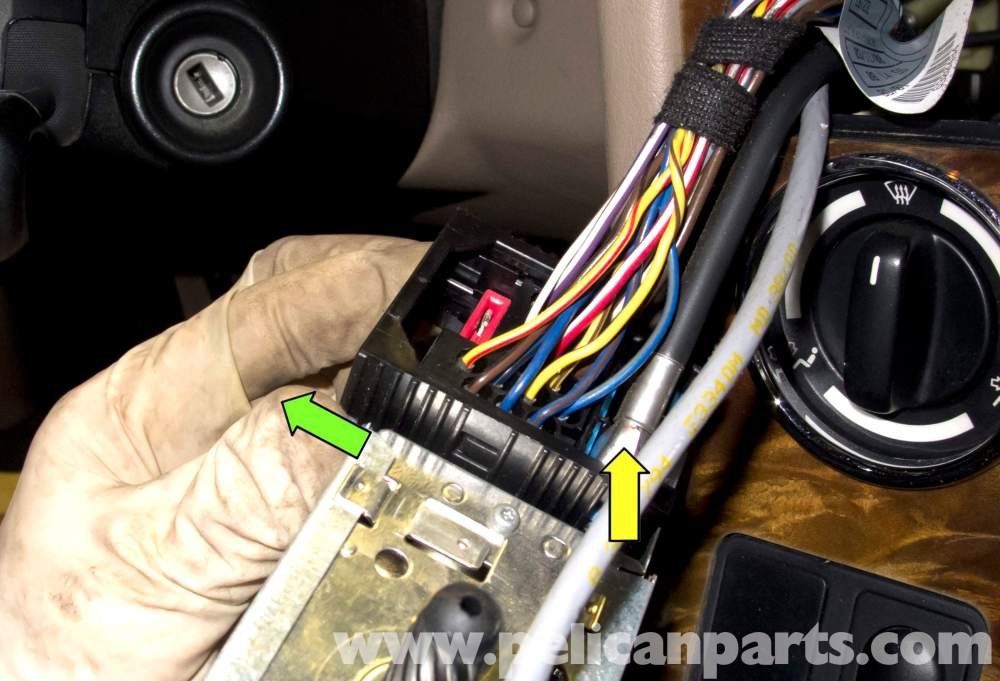 medium resolution of bmw z3 radio removal and replacement 1996 2002 pelican parts diy bmw z3 radio wiring harness