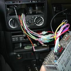 Speaker Wiring Diagram Honda Fourtrax 300 Bmw E30 E36 Radio Head Unit Installation 3 Series 1983 1999 18
