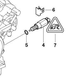 Automatic Transmission Start Inhibit Switch 24357518731