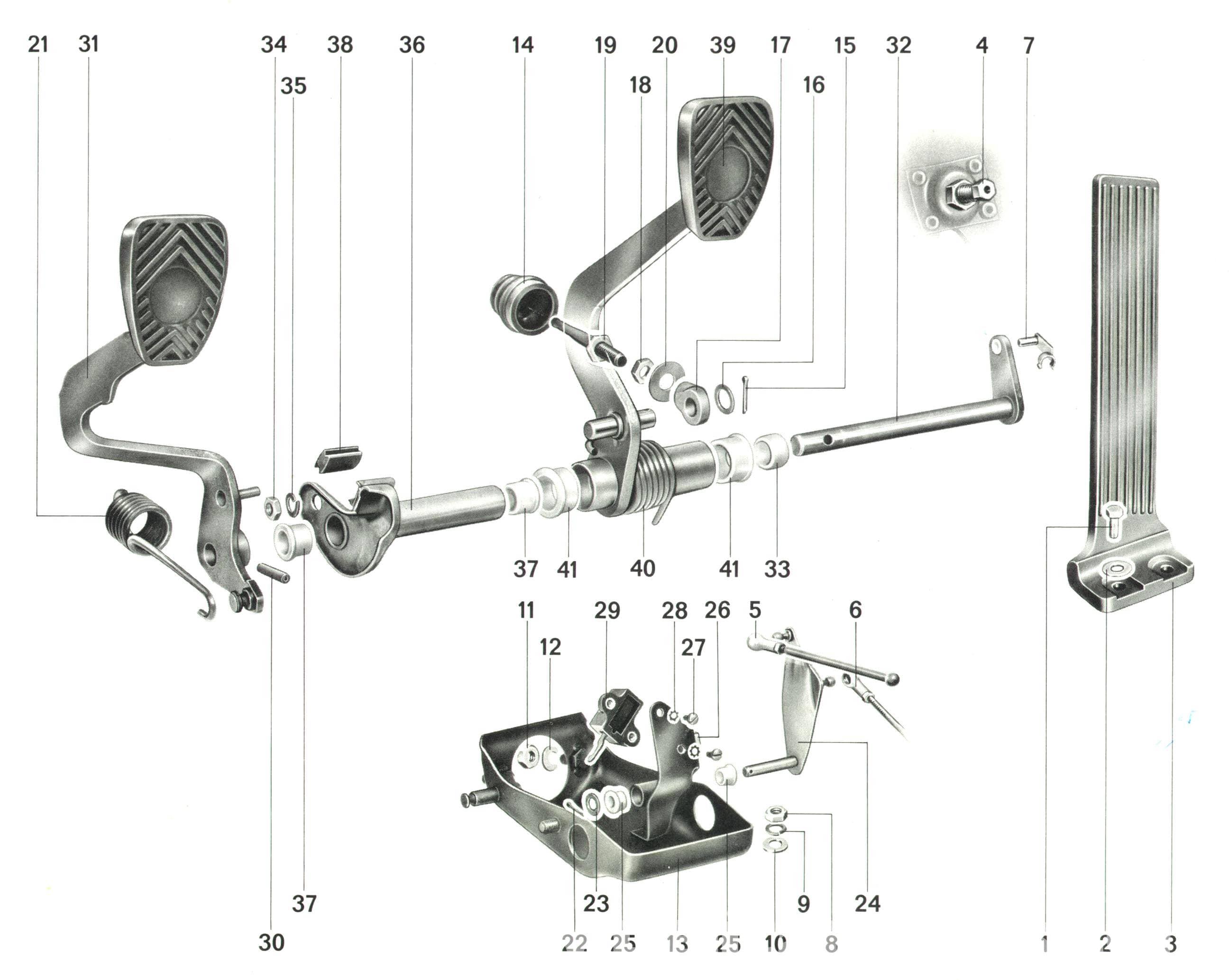 porsche 911 engine diagram of parts hpm exhaust fan wiring pedal cluster rebuild 1965 89 930