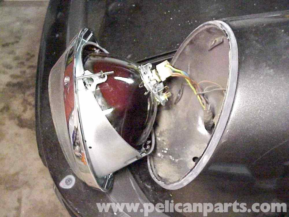 medium resolution of porsche 911 h4 headlight upgrade 911 1965 89 930 turbo 1975 porsche boxster headlight wiring porsche headlight wiring