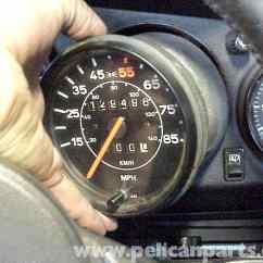 Porsche Wiring Diagram 3 Tier Internet Architecture 911 Speedometer Removal | (1965-89) - 930 Turbo (1975-89) Pelican Parts Diy ...