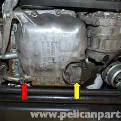 Porsche 911 Engine Diagram Of Parts Western 1000 Salt Spreader Wiring Audi A4 B6 Oil Level Sensor Replacement (2002-2008)   Pelican Diy Maintenance Article