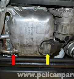 pic02 audi a4 b6 oil level sensor replacement 2002 2008 pelican at cita  [ 2591 x 1728 Pixel ]