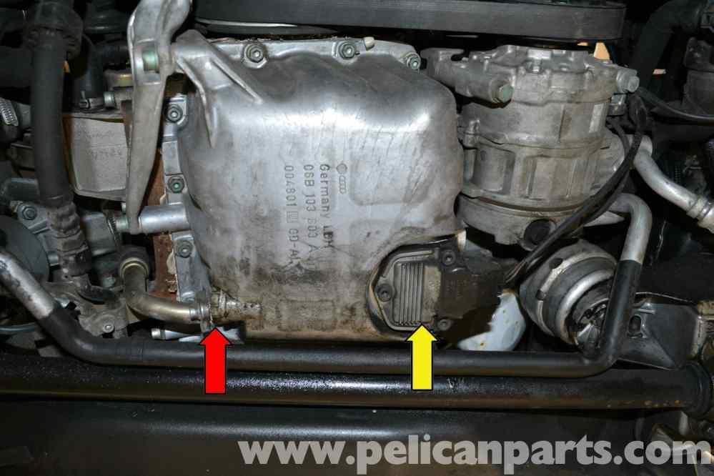 medium resolution of  pic02 audi a4 b6 oil level sensor replacement 2002 2008 pelican at cita