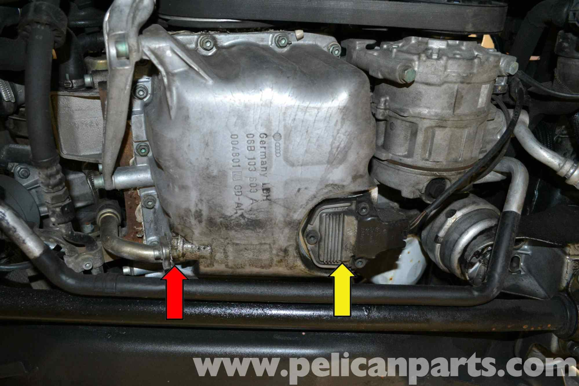 hight resolution of  pic02 audi a4 b6 oil level sensor replacement 2002 2008 pelican at cita
