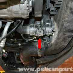 2002 Jetta Tdi Fuse Diagram Water Level Indicator Project With Circuit Audi A4 B6 Coolant Temperature Sensor Replacement (2002-2008) | Pelican Parts Diy Maintenance ...