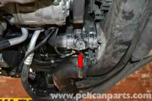 Audi A4 B6 Coolant Temperature Sensor Replacement (2002