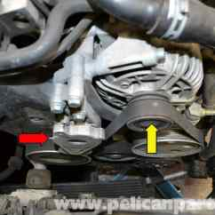2003 Audi A4 Engine Diagram 94 Ford Explorer Xlt Radio Wiring B6 Idler Pulley Replacement (2002-2008)   Pelican Parts Diy Maintenance Article