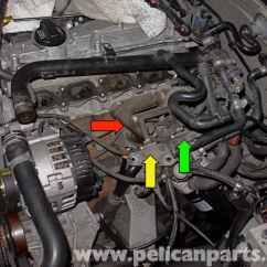 2004 Volkswagen Jetta Wiring Diagram Zachman Framework Audi A4 B6 Crankcase Ventilation, Egr Hoses And Valve Replacement (2002-2008)   Pelican Parts ...
