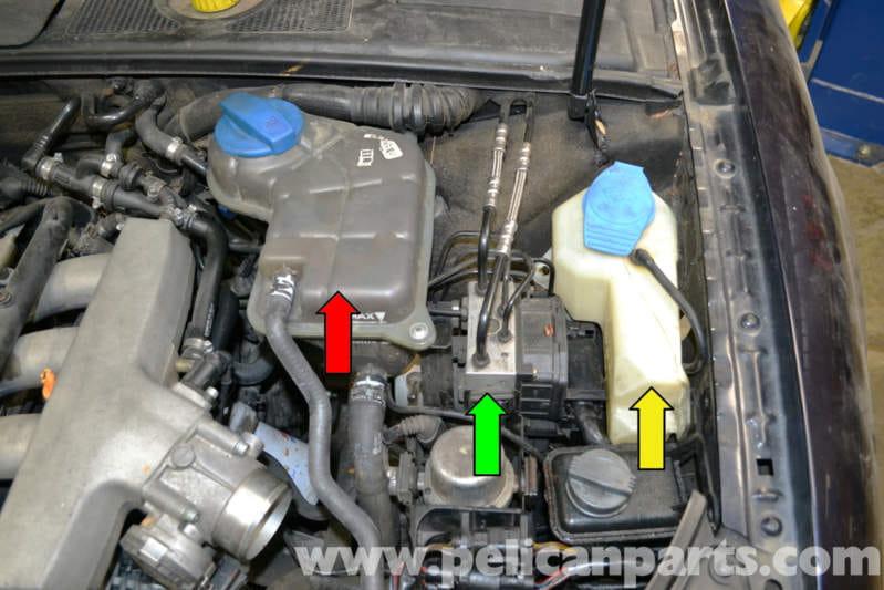 2014 Vw Gti Engine Parts Diagram Audi A4 B6 Abs Control Module Replacement 2002 2008