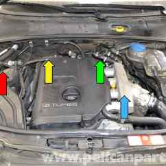 2002 Vw Passat Vacuum Hose Diagram Bogen Paging System Wiring Audi A4 B6 Fixing Common Leaks 2008