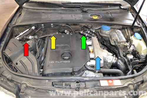 small resolution of audi a4 b6 fixing common vacuum leaks 2002 2008 pelican parts audi a4 vacuum hose diagram on heated oxygen sensor 1 8t location