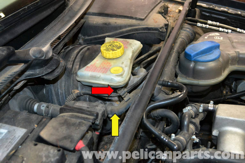 Abs Resevoir 2006 Audi A6 Engine Diagram Audi A4 B6 Brake Fluid Level Sensor Replacement 2002 2008
