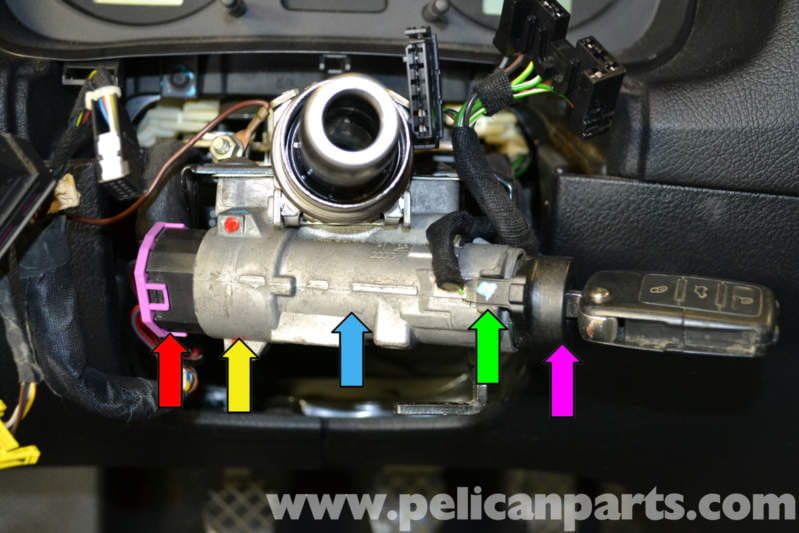 06 Audi A3 Ignition Wiring Diagram Audi A4 B6 Ignition Switch And Lock Cylinder Replacement