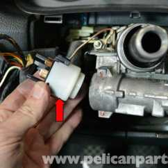 Mk4 Jetta Tdi Wiring Diagram 2006 Chrysler Sebring Audi A4 B6 Ignition Switch And Lock Cylinder Replacement (2002-2008) | Pelican Parts Diy ...